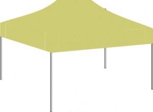 5m x 5m Cream Canopy